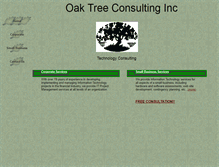 Tablet Preview of oaktreeconsulting.net